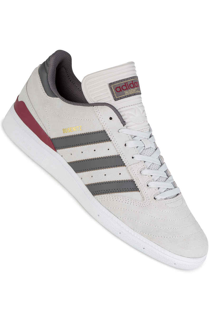 adidas Skateboarding Busenitz Schuh (grey one custom burgundy)