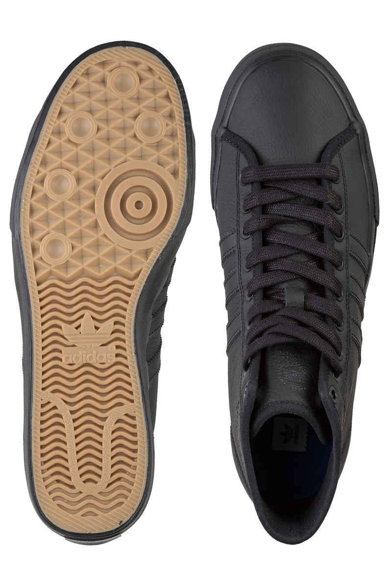 adidas Skateboarding Matchcourt High RX Shoes (core black core black core black)