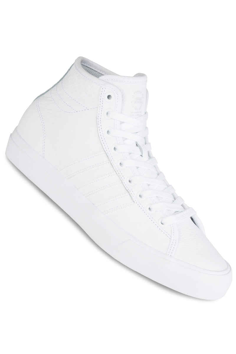adidas Skateboarding Matchcourt High RX Leather Schuh (white white white)