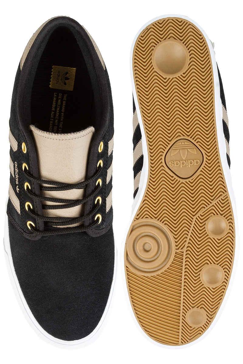 adidas Skateboarding Seeley Shoes (core black khaki white)