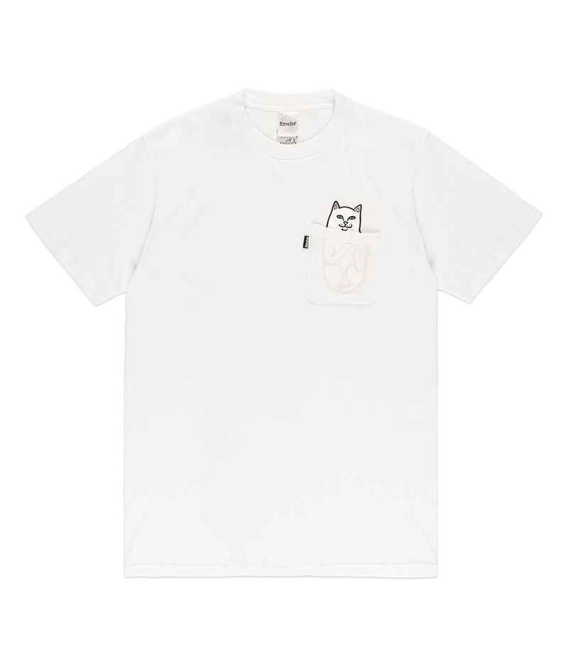 RIPNDIP Lord Nermal Pocket T-Shirt (white)