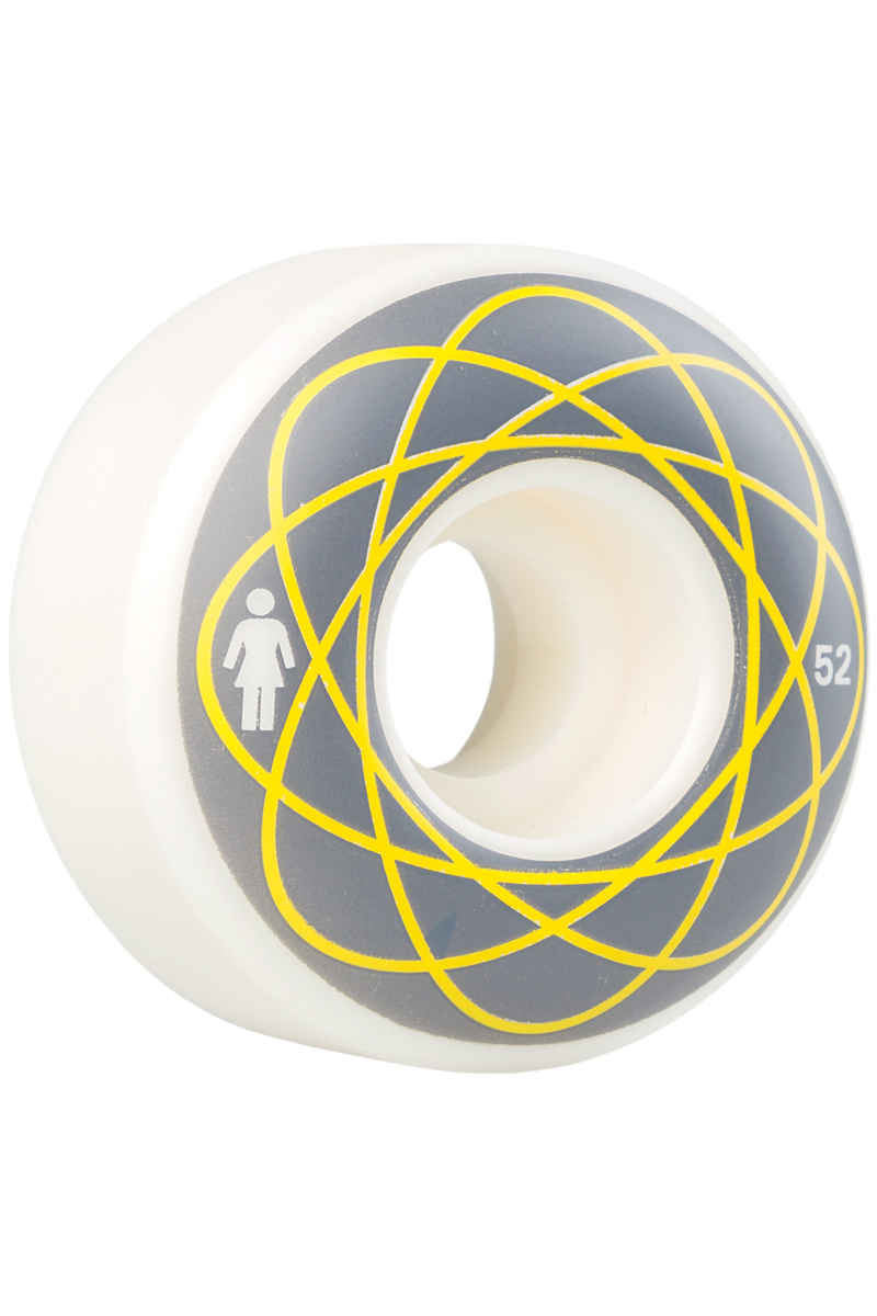 Girl Nuclear 52mm Rollen (white grey) 4er Pack