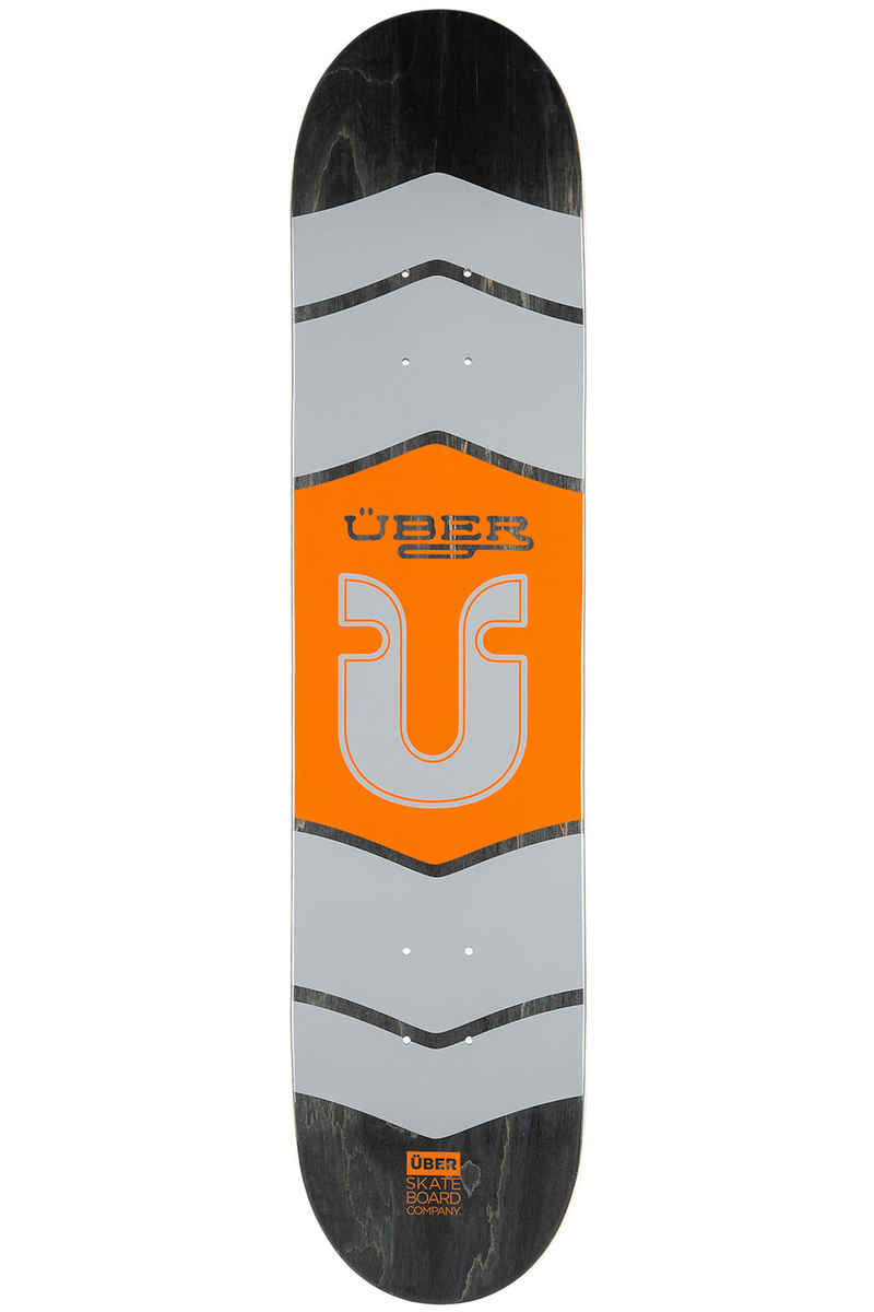 "Über Skateboards Icon 7.75"" Deck (orange)"
