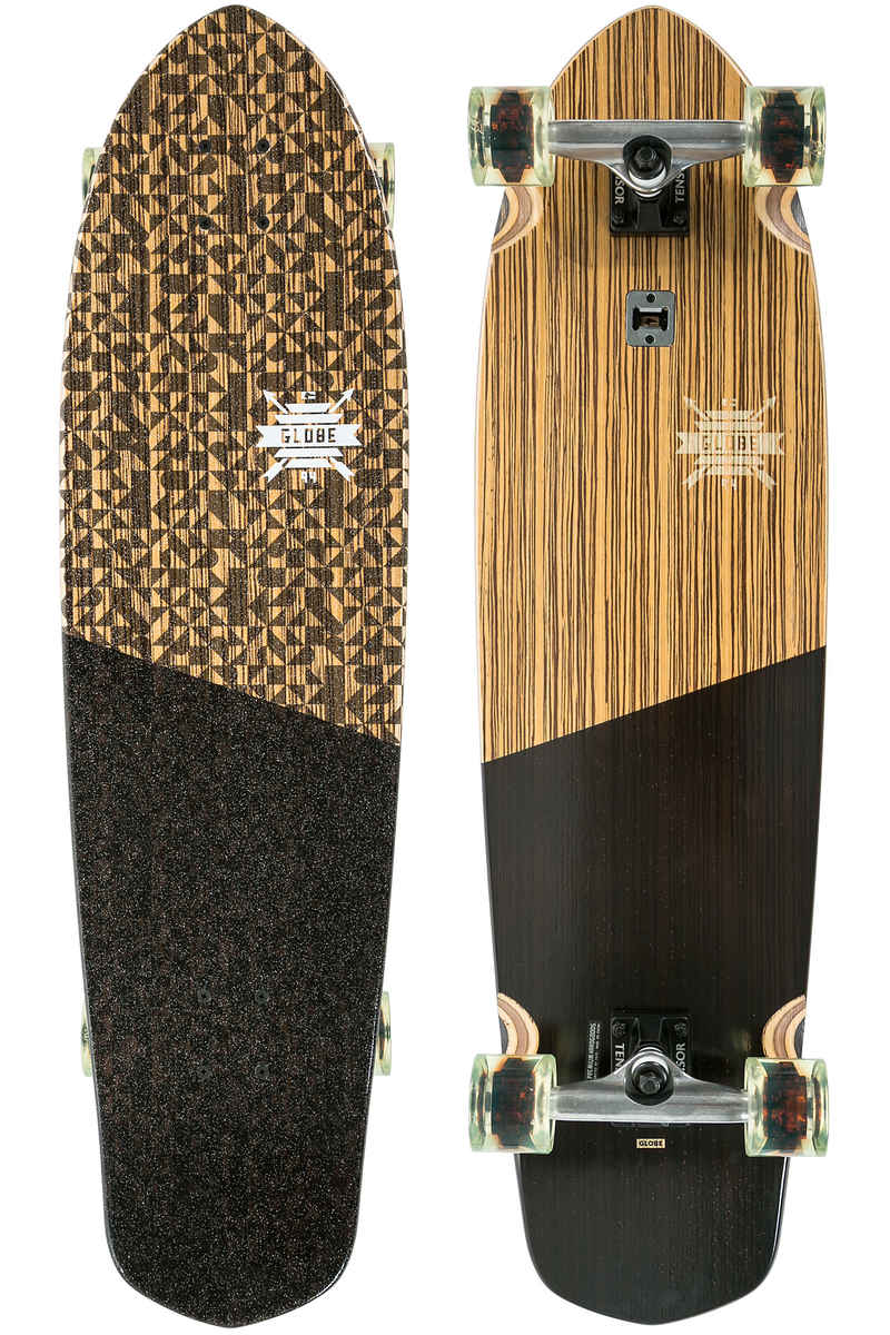 "Globe Blazer XL 36.25"" (92,1cm) Komplett-Longboard (zebrawood black)"
