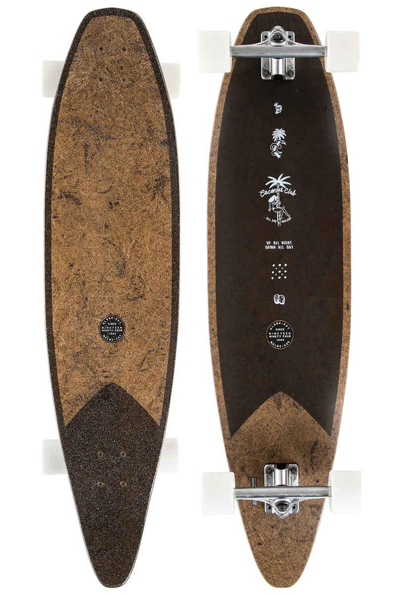 """Globe Pinner Evo 40"""" (101,6cm) Complete-Longboard (coconut black)"""
