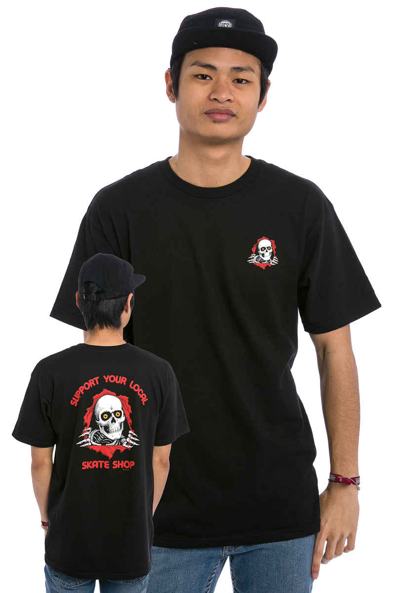 Powell-Peralta Support Your Local Skate Shop Camiseta (black)