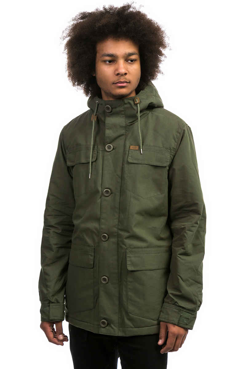 Globe Goodstock Thermal Parka Jacket (ivy)