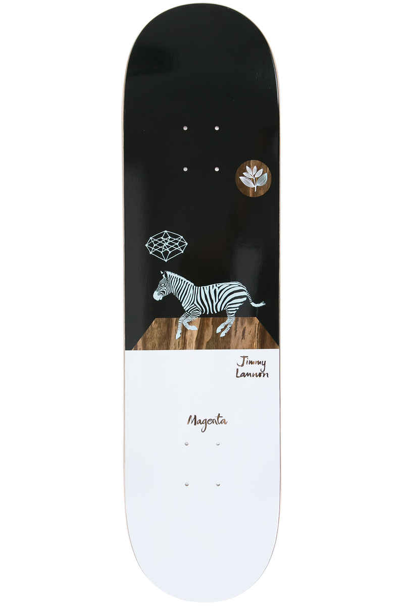 "Magenta Lannon 8.25"" Deck (black white)"