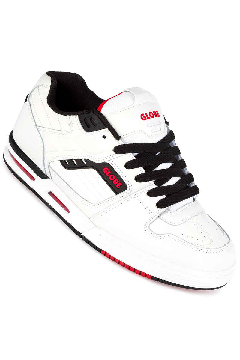 Globe Fury Zapatilla (white black red)