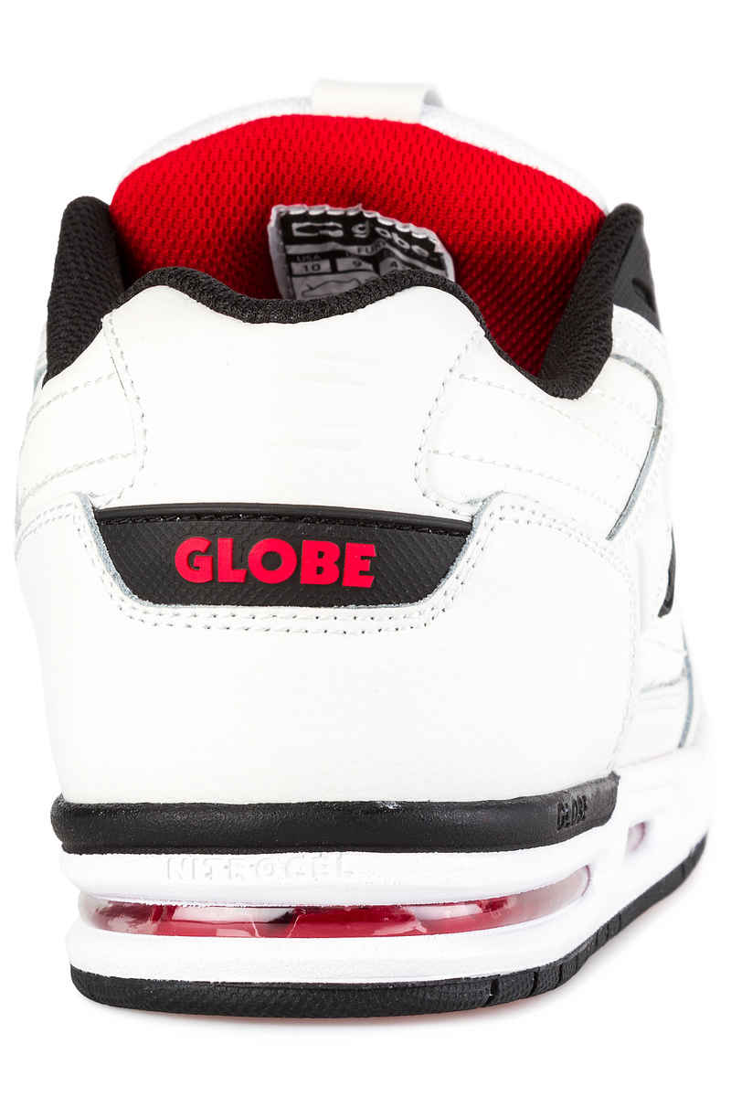 Globe Fury Schoen (white black red)