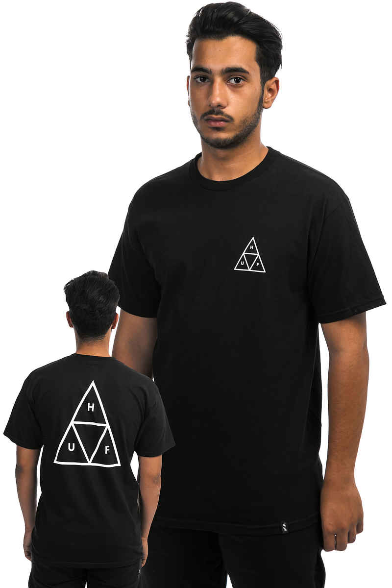 HUF Triple Triangle T-Shirt (black)