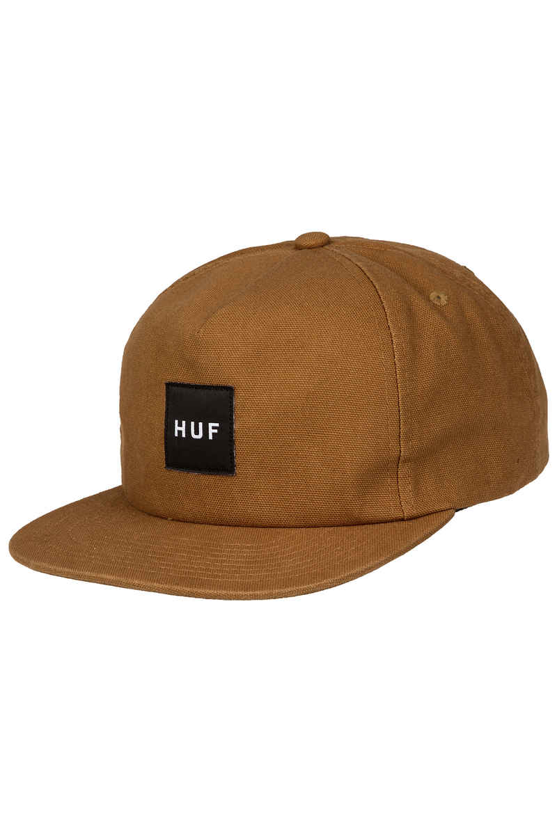 HUF Wash Canvas Box Logo Cap (caramel)