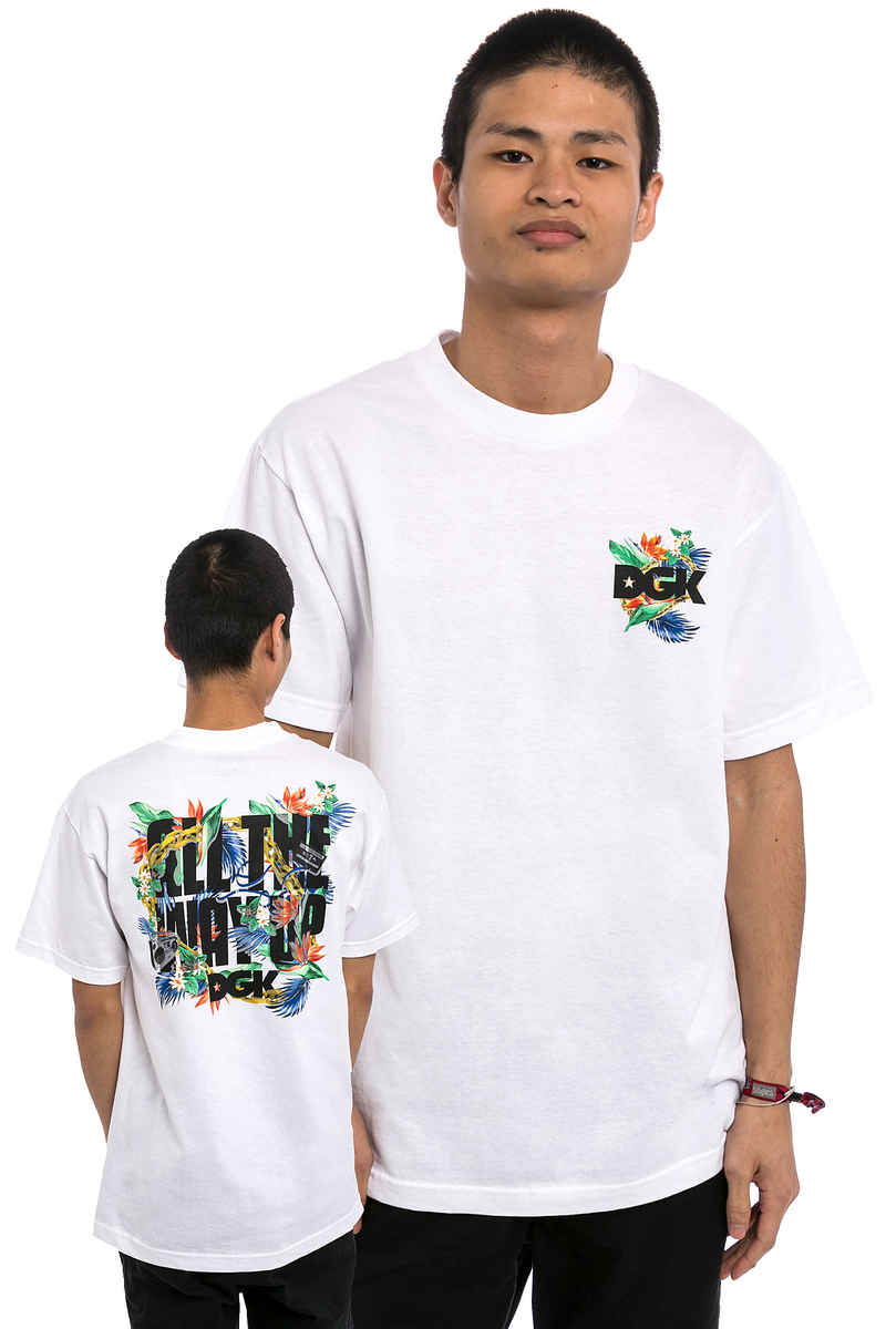 DGK Skateboards All The Way Up Camiseta (white)