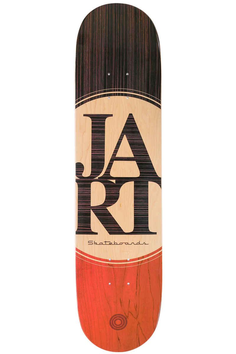 """Jart Skateboards Zebrano 7.75"""" Planche Skate (brown orange)"""