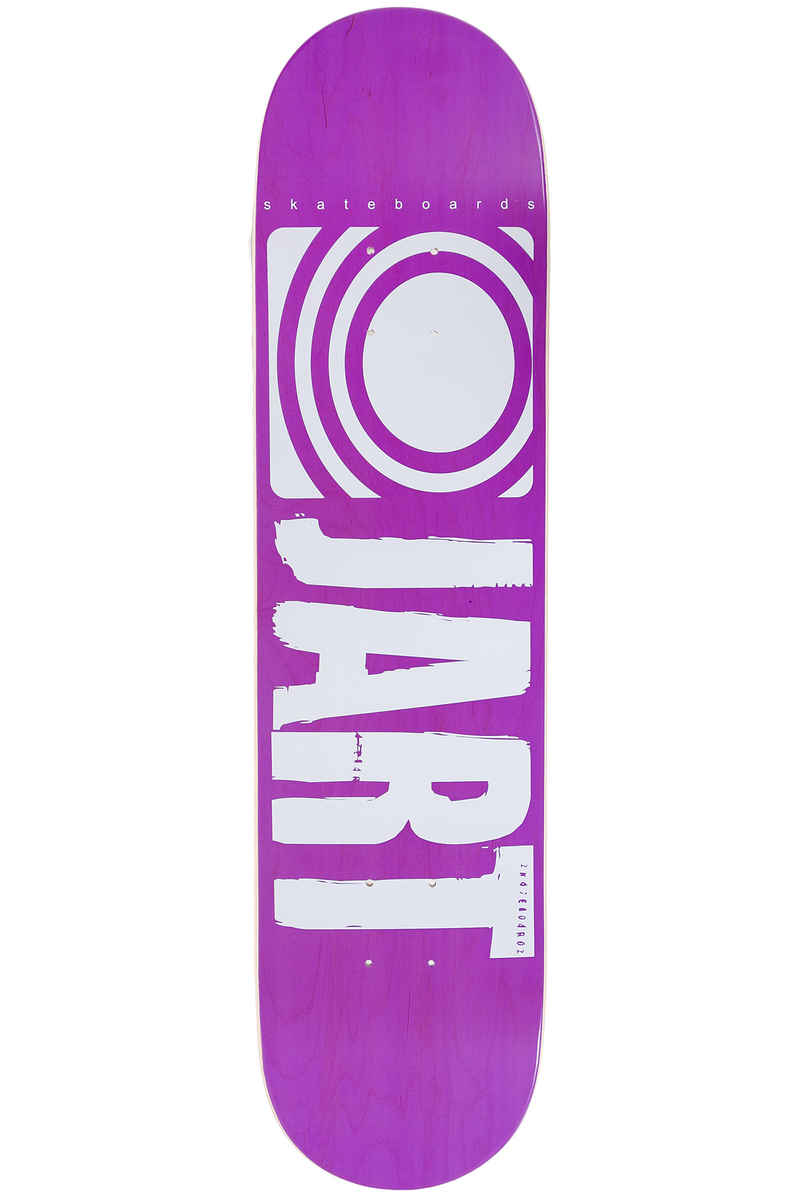 "Jart Skateboards Classic 7.625"" Deck (purple)"