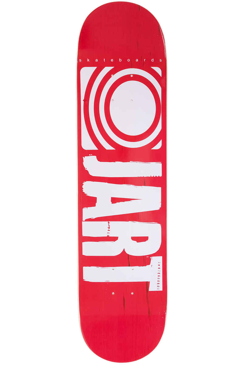 "Jart Skateboards Classic 7.75"" Planche Skate (red)"