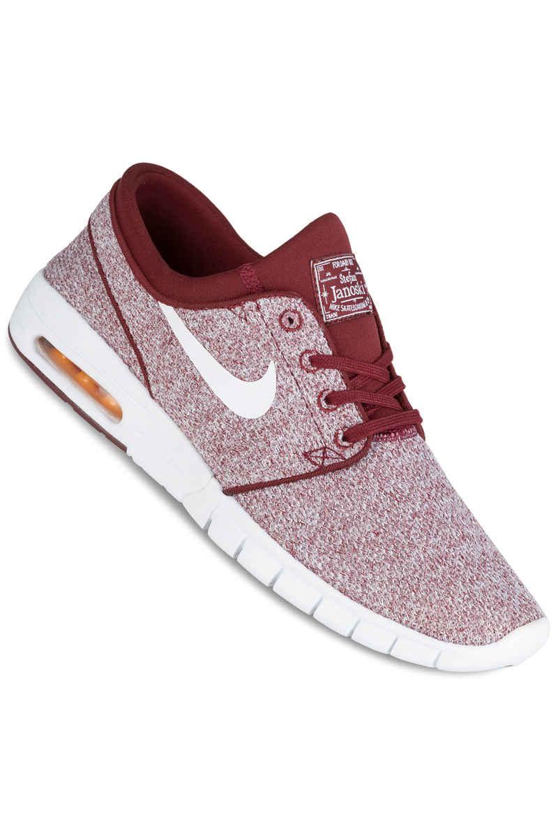 Nike SB Stefan Janoski Max Shoes (dark team red white)