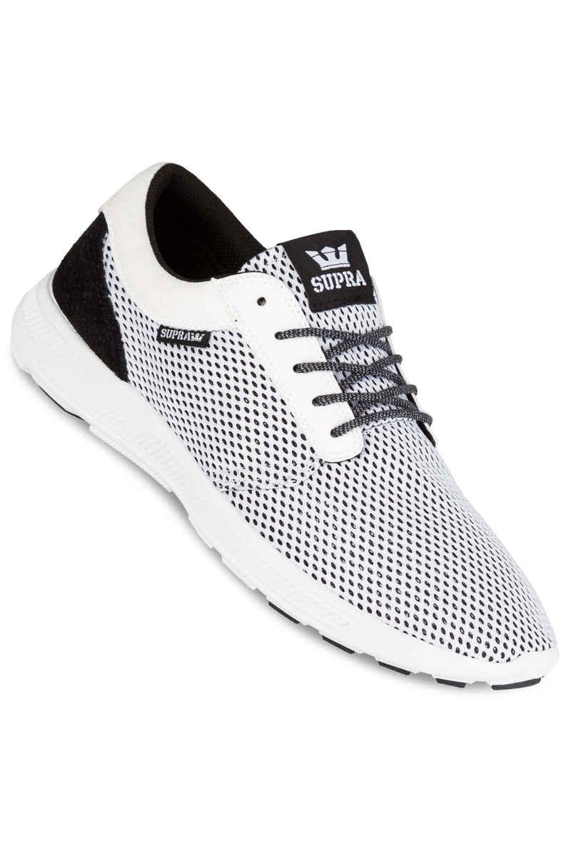 Supra Hammer Run Shoes  (white black)