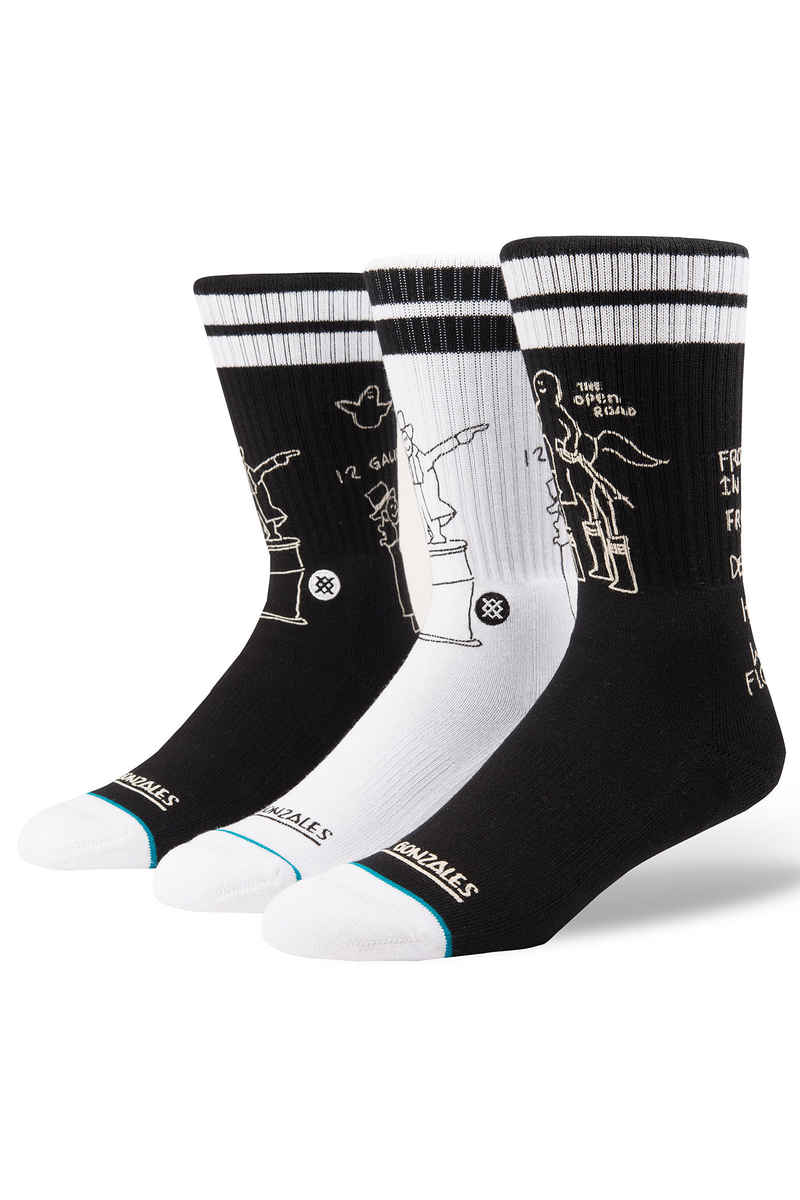 Stance Skate Shell Chaussettes US 9-12 (black)