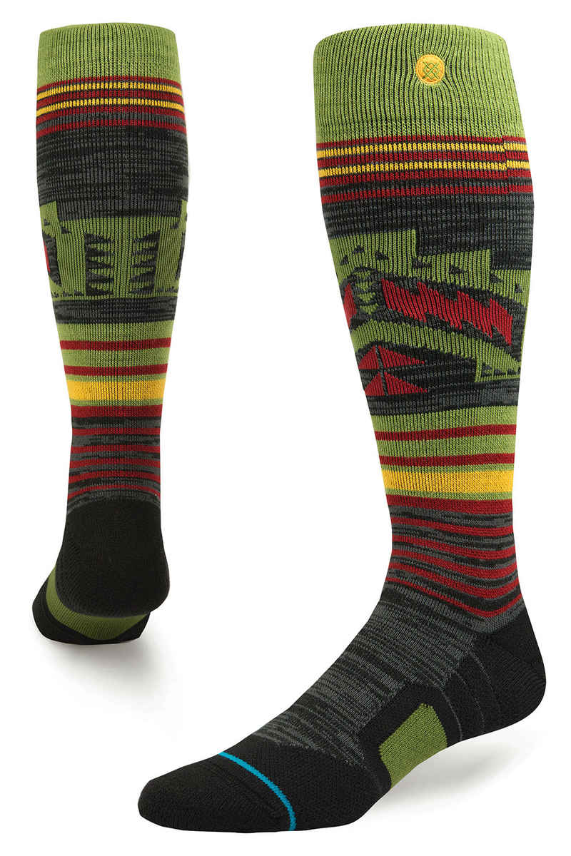 Stance Snow Smoke Shack Chaussettes US 6-12 (olive)