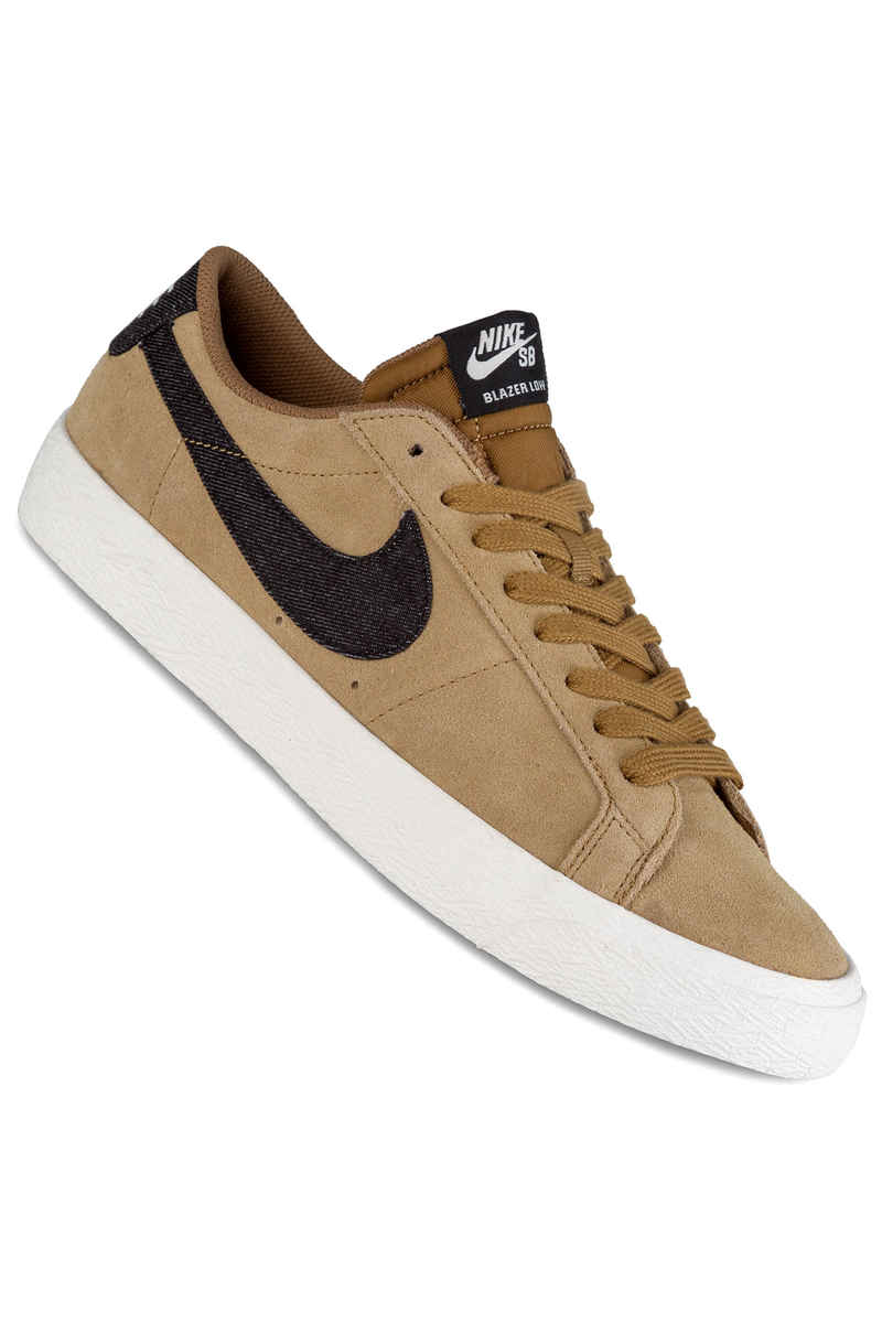 Nike SB Zoom Blazer Low Schuh (golden beige black)