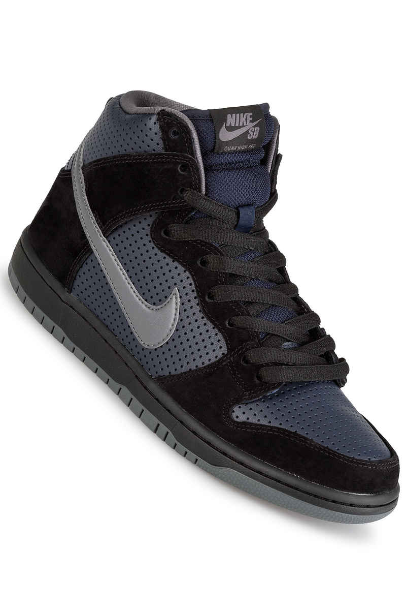 Nike SB Dunk High OG Gino Iannucci QS Chaussure (black light graphite)