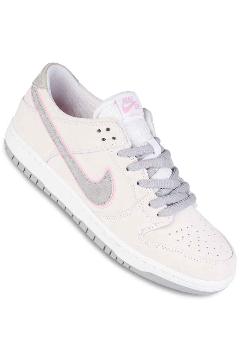 Nike SB Dunk Low Pro Ishod Wair Shoes (white perfect pink silver)