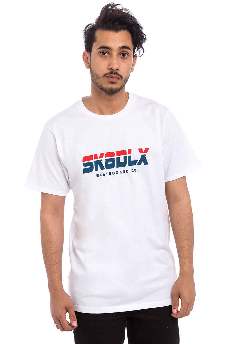 SK8DLX Athletic T-Shirt (white)