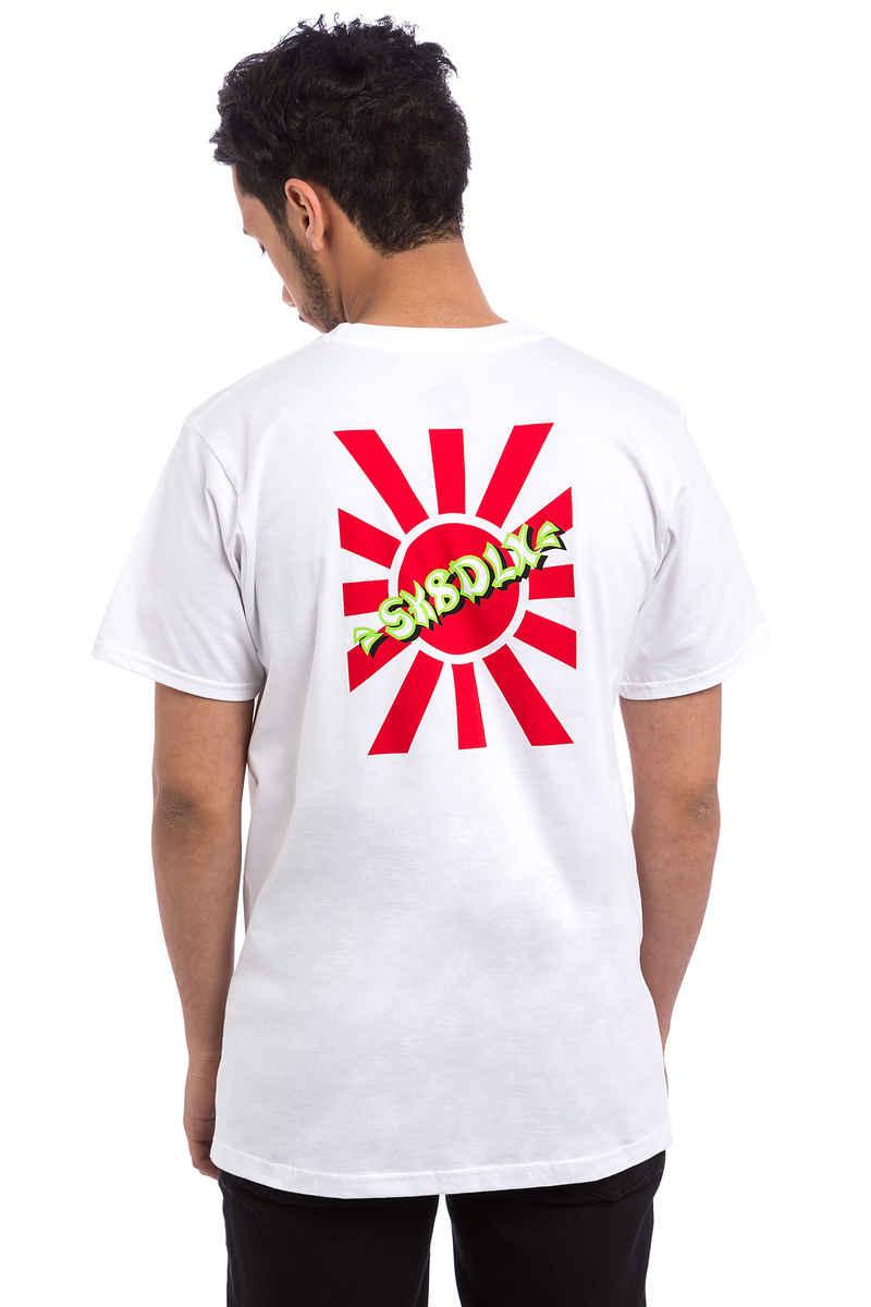 SK8DLX Rising Sun T-Shirt (white)
