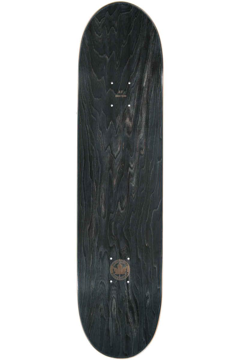 "Inpeddo Higher Vibrations 8"" Planche Skate (black turquoise)"