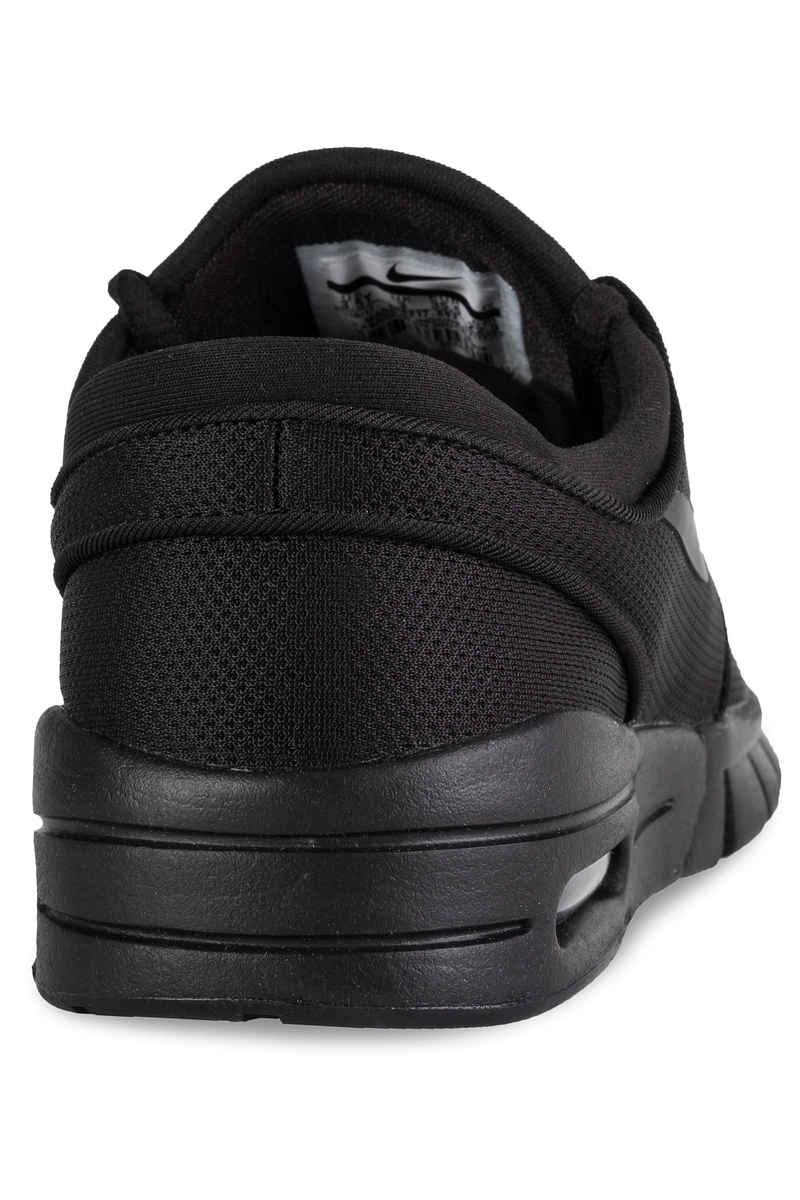 ... nike sb stefan janoski max shoes kids (black black black)