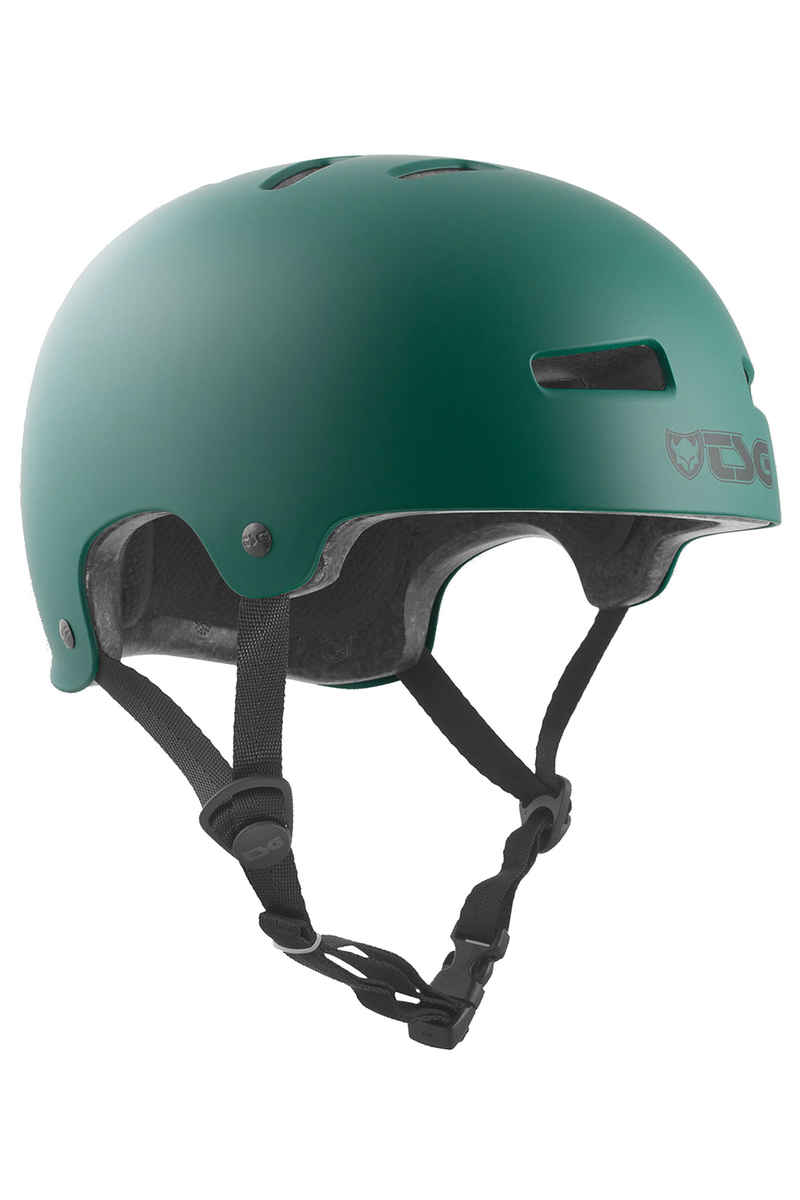 TSG Evolution-Solid-Colors Helmet (satin forest)