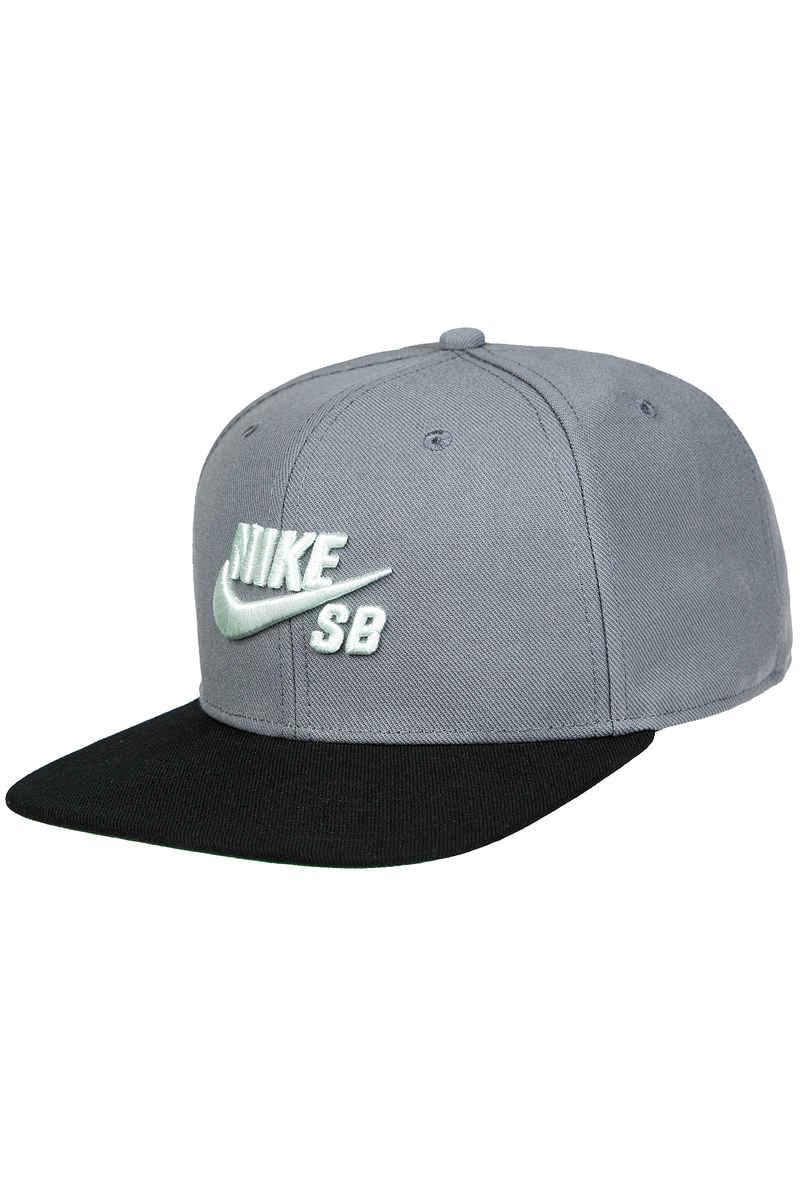 384e99e1b61 Nike SB Icon Cap (cool grey black) buy at skatedeluxe