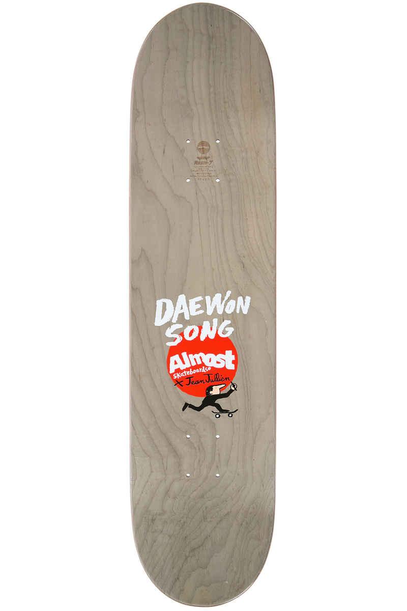 "Almost x Jean Jullien Song Stairs 8"" Deck (multi)"