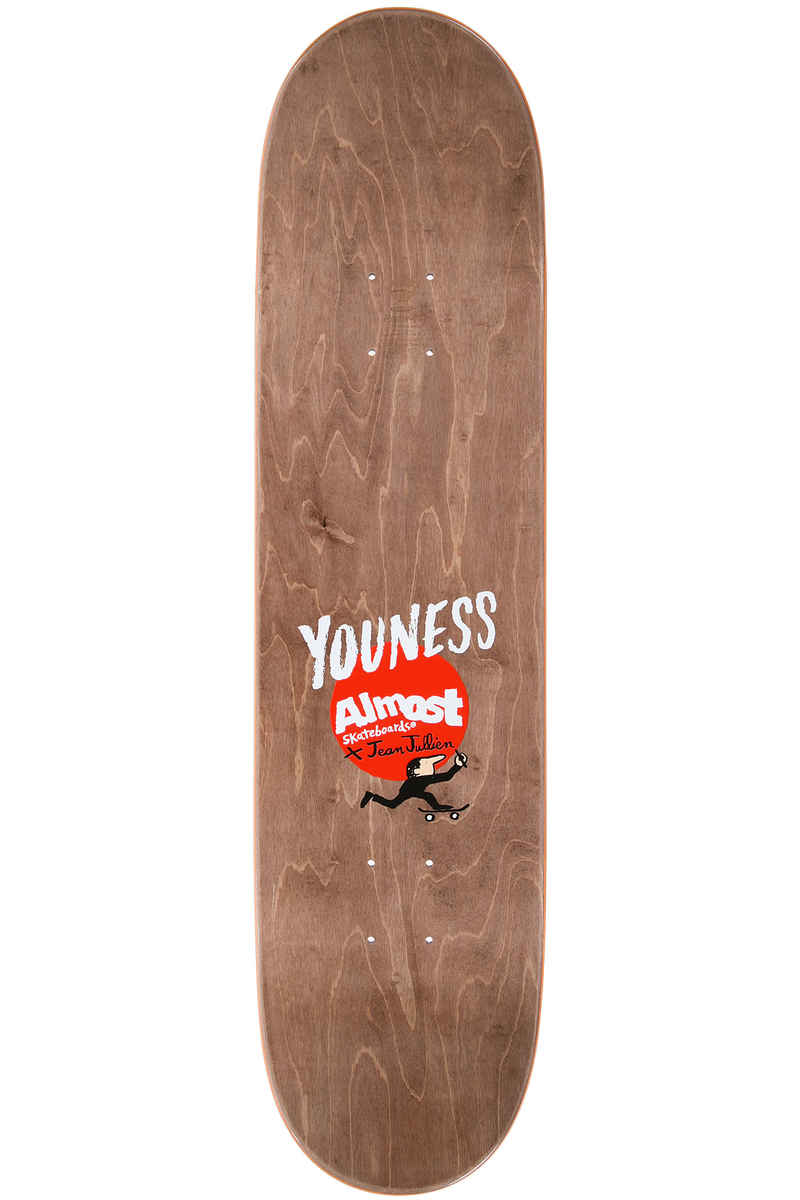 "Almost x Jean Jullien Amrani Lovers 8.125"" Deck (multi)"