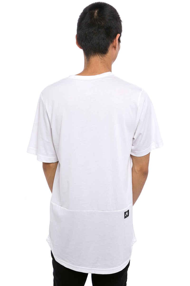 Nike SB Dry Top T-Shirt (white dark grey heather)
