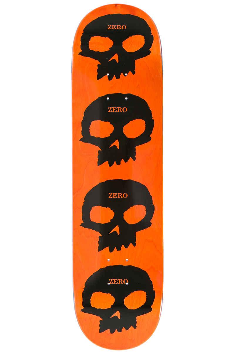 """Zero Multi Skull 8.125"""" Tabla (black orange)"""