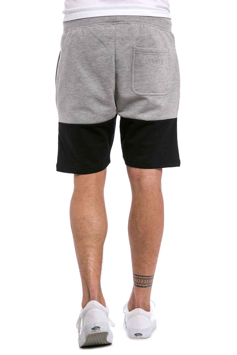 SK8DLX Two Colors Shorts (heather grey black)