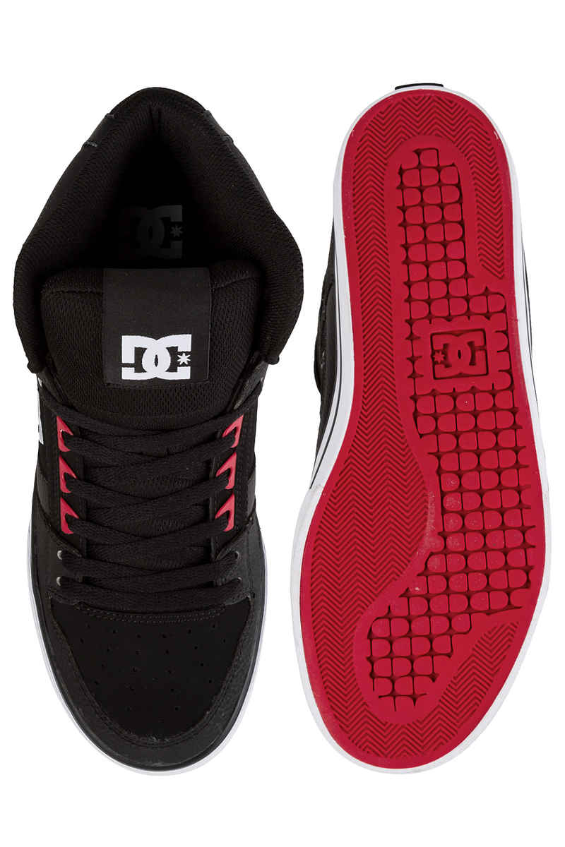 DC Spartan High WC Schuh (black red black)