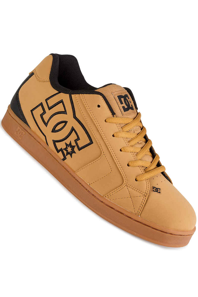DC Net Zapatilla (wheat black dark chocolate)