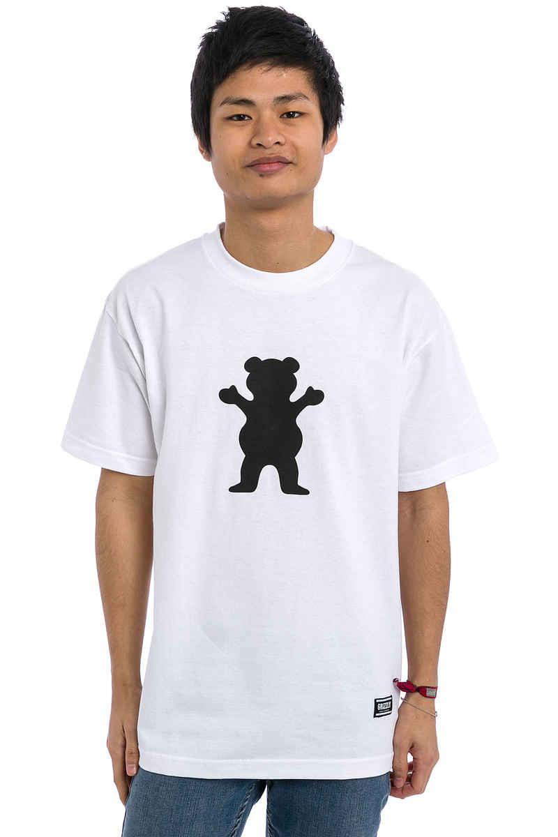 Grizzly OG Bear Logo T-Shirt (white)