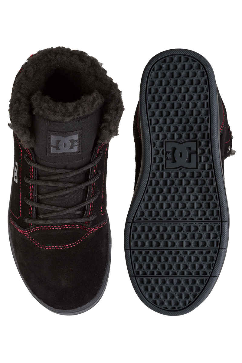 DC Crisis High WNT Schuh  (black red white)