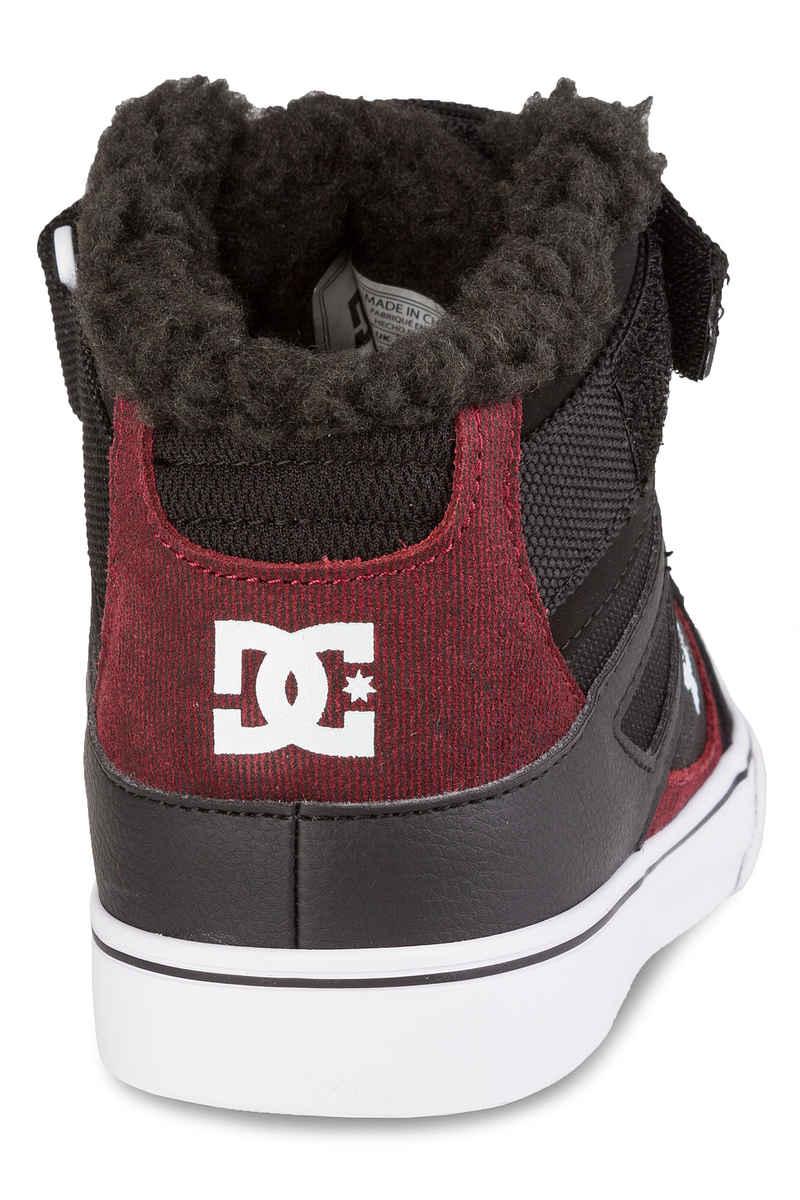 DC Spartan High WNT EV Shoes  (black dark red)