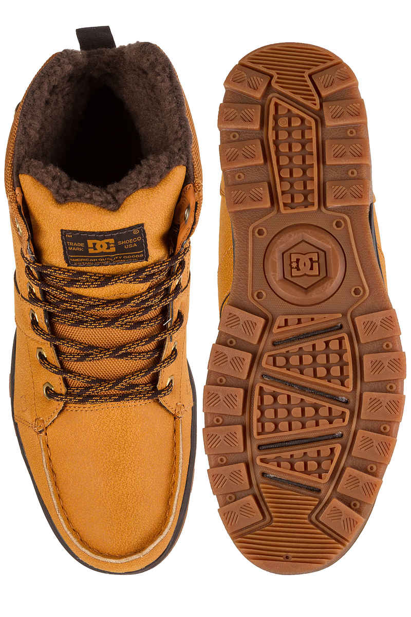 DC Woodland Shoes  (wheat)