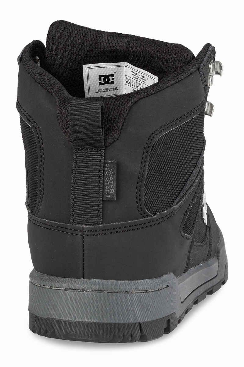 DC Spartan High WR Shoes  (black black dark grey)