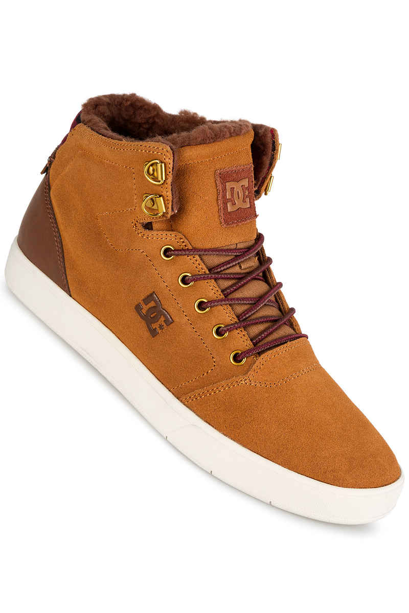 DC Crisis High WNT Zapatilla  (wheat dark chocolate)