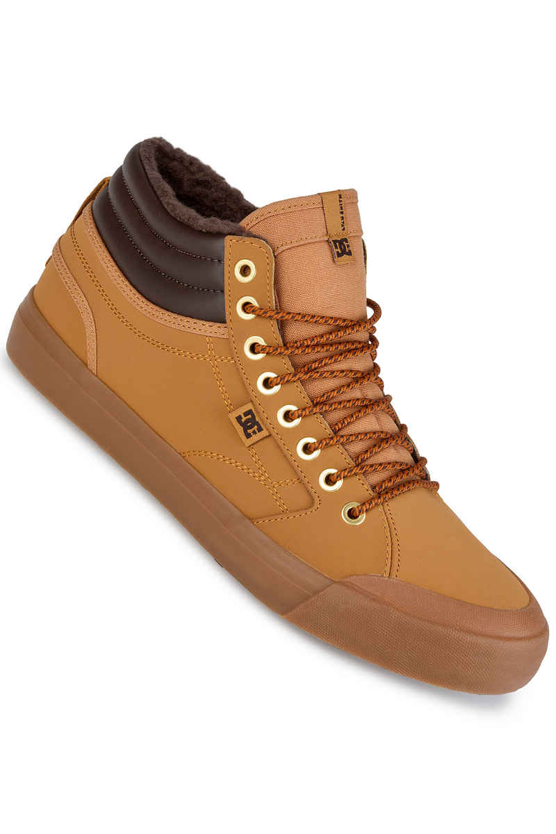 Evan Smith Hi WNT Zapatillas Hombre, Marrón (Wheat), 39 EU (6 UK) DC