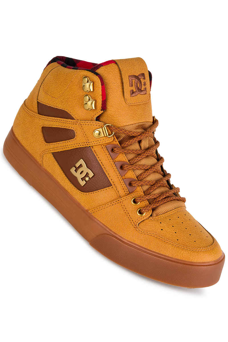 DC Spartan High WC WNT Zapatilla (wheat black dark chocolate)