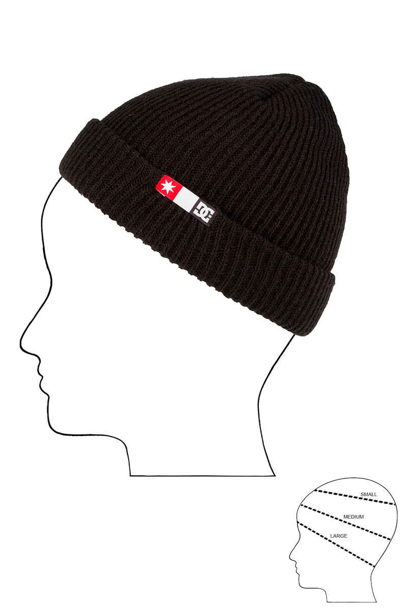 DC Core Beanie 2 Bonnet (black)