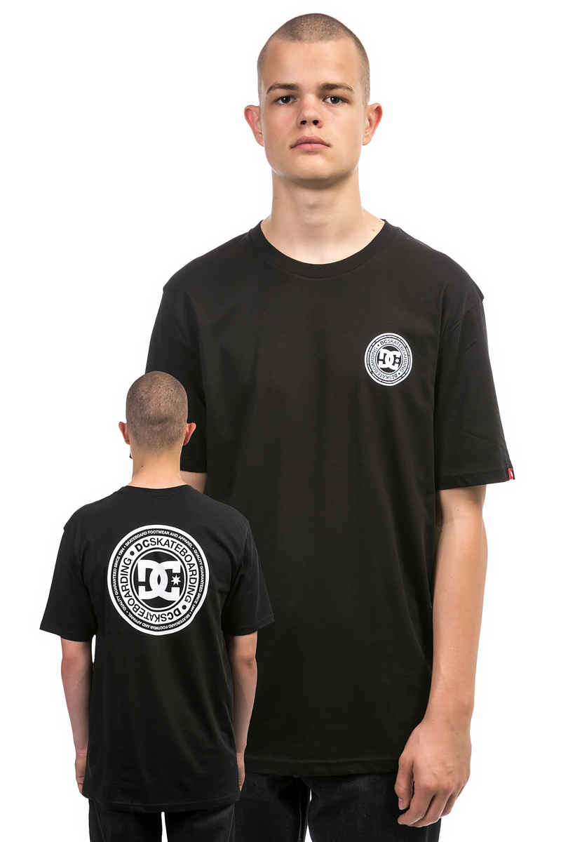 DC Skate Circle T-Shirt (black)